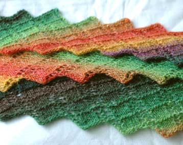 argosy knitty scarf noro silk garden
