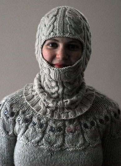 Knitting Neels FO Balaclava Custom Balaclava Knitting Pattern