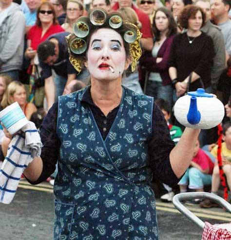 Macnas Parade Galway