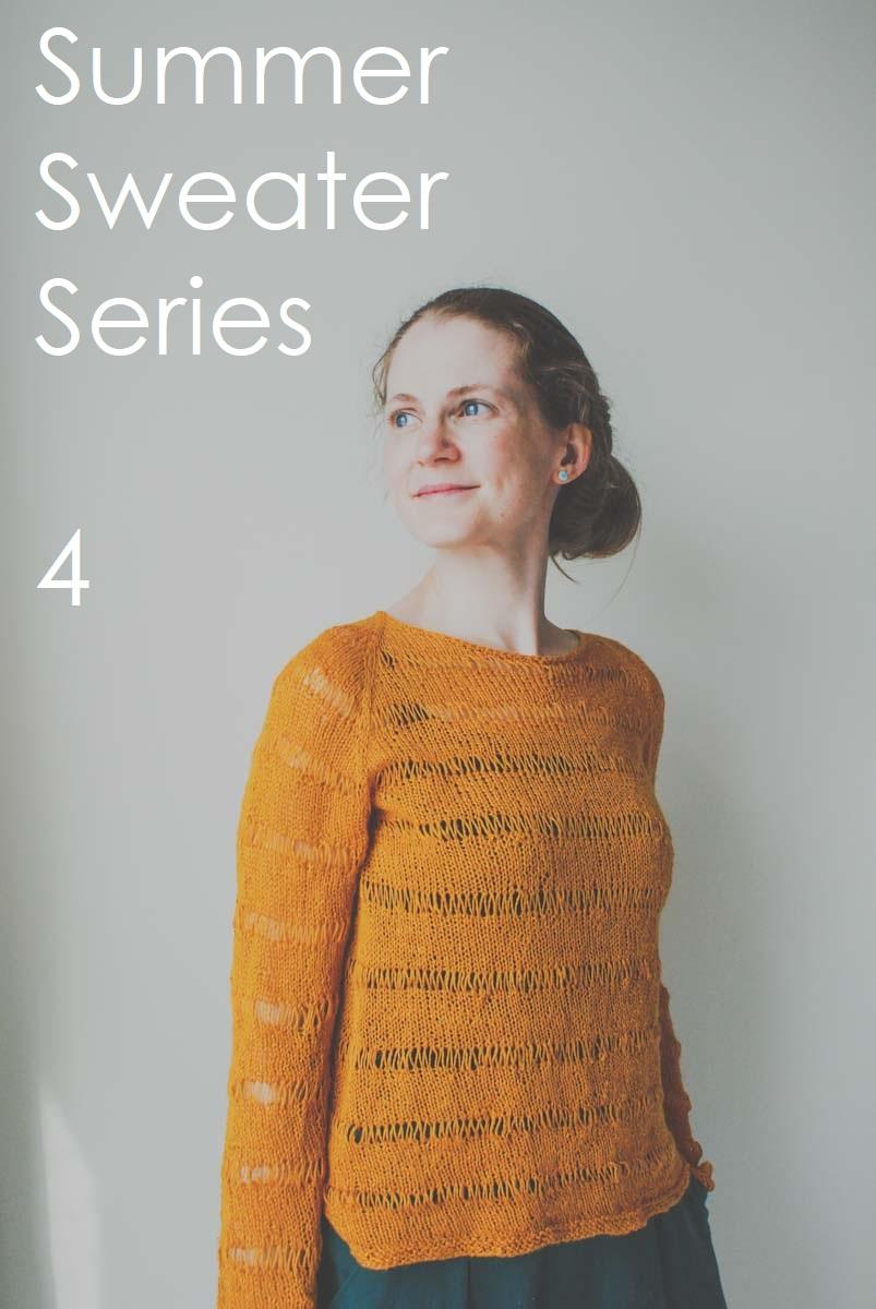 Summer Sweater Series: Linen Cove